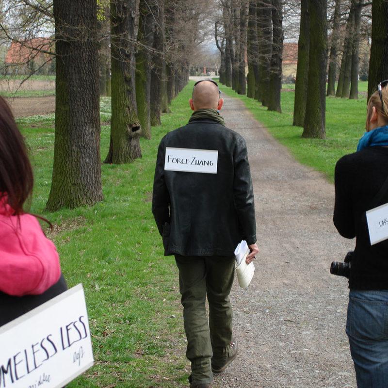 Land Art FORCED MIGRATION Krzyzowa | Poland