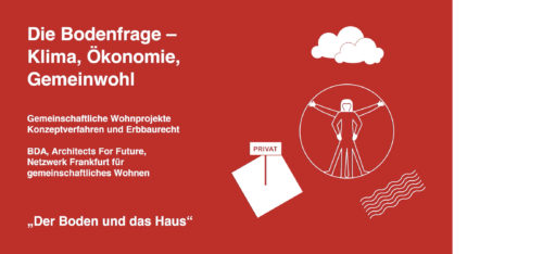 21.06.2021 18-20 Uhr 'Der Boden und das Haus' Stadtspaziergang in Frankfurt Main, BDA Frankfurt