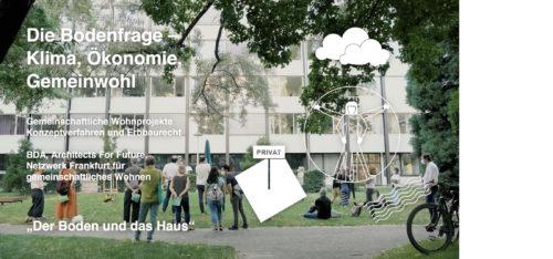 Video zu  'Der Boden und das Haus' Stadtspaziergang in Frankfurt Main, BDA Frankfurt